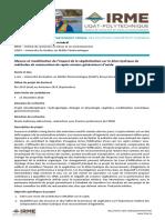 Offre de Doctorat Rdc 2019 Vegetation Et Bilan Hydrique Phd Mg