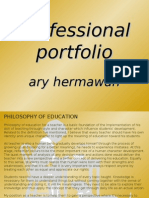 TeacherPortfolio AryHermawan 2006-2007