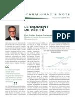 Carmignac's note - 2015-09