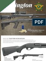 Remington 2011 Law Enforcement Products Catalog