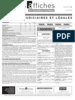 Petites Affiches - Annonces Légales - 2015-04-23