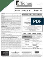 Petites Affiches - Annonces Légales - 2015-04-24