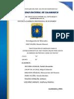 SEGUNDO AVANCE DE LA INVESTIGACIÓN DE MERCADOS 1 (1)