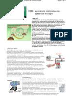 valvula EGR funcion y tipos