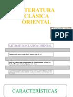 Literatura Clásica Oriental 4 y 5