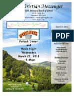 March 15 Newsleetter