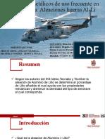 Materiales metálicos de uso frecuente en Aeronáutica (2)