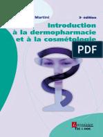 Introduction à La Dermopharmacie Et à La Cosmétologie