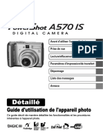 Canon Ps570is Fr