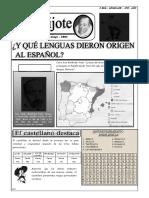 GUIA Nº6 - EL ESPAÑOL EN LA ACTUALIDAD