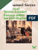 ¿Qué es el Tercer Estado  Ensayo sobre los privilegios by Emmanuel Joseph Sieyes (z-lib.org).epub