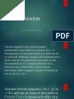 Metoda Newton Manoli Dan
