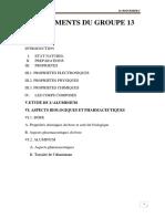 LES ELEMENTS DU GROUPE 13 (2)