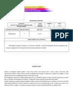 Analítico. tecnicas de negociación electiva I