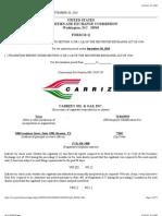 Carrizo 2010 Q3 10Q