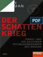 Ronen Bergman, Jens Hagestedt - Der Schattenkrieg