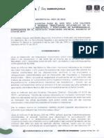 Decreto 0821 de 2020 Valores Absolutos 2021
