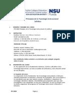 Syllabus EDD8008 by Nelson J. Abreu