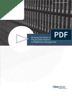 ProactiveNet Middleware Monitoring