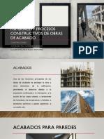 Materiales y procesos constructivos de obras de acabado. ppt