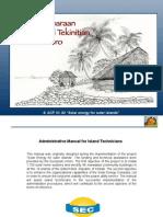 4.1.- Workshop Material - Administrative manual for island technicians (kiribati)