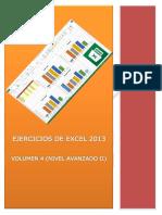 Ejercicios de Excel 2013 Volumen 4