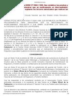 NOM-177-SSA1-1998. Pruebas y Procedimientos Para Demostrar Intercambiabilidad.