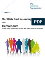 Electoral Commission AV Referendum Guide - Scotland