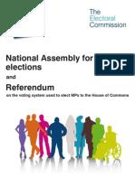 Electoral Commission AV Referendum Guide - Wales