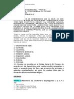 TALLER LA PRUEBA EN EL CÓDIGO GENERAL DEL PROCESO