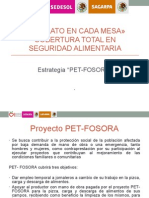 Introducción a FOSORA-PET