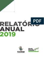 Relatório anual Rede Favela Sustentável 2019