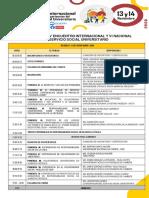 Programa IV Encuentro Internacional SSU 2020-OK