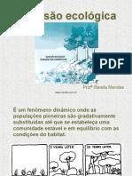 04 - SUCESSÃO ECOLÓGICA