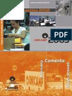 Unicamp - 2002 -  Prova Comentada - Historia