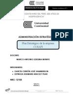 Examen Final - Administración Estrategica