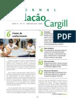 Jornal Fundação Cargill no. 13