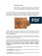A música na Idade Média - Trabalho do Gustavo