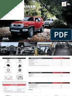Ficha Técnica - Ficha técnica Toyota FJ Cruiser
