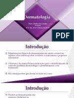 Aula+4+ +Dermatologia
