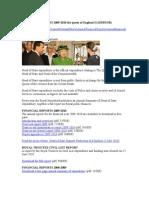 Financial Reports 2009.of Te Queen of England II (Debtor)Doc