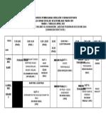 Jadual Kursus Pembugaran Jurulatih 5 Sukan Utama Mssnm