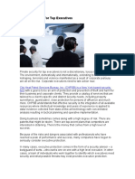 Private Security For Top Executives-Scribd