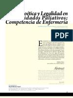 Ética, Bioética y Legalidad en