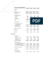 Larrys Bicycle Shop - Annual Financial Statements - Original Hardcoded