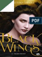 Christina Henry Black Wings T6 Black Heart