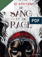 De Sang Et de Rage - Roman Dès 14 Ans (French Edition) by Tomi Adeyemi