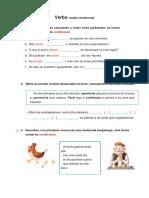 Verbo_Condicional_Ficha Formativa