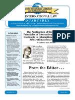 ILQ Winter 2011 Issue