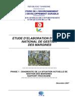 Etude Dlaboration Dun Plan National de Gestion Des Margines Phase 1 Dcembre 2007